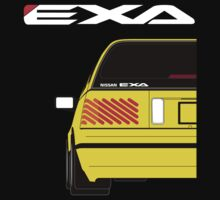 NISSAN EXA SPORTBACK YELLOW by Cat Games Inc
