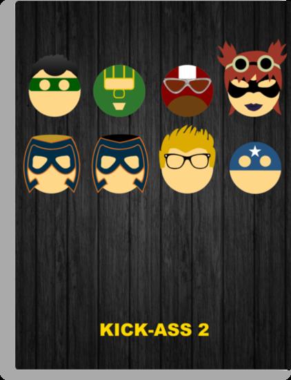 Minimalist Posters: Kick-Ass 2 by JordanDefty