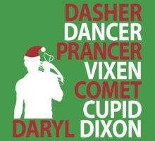 Daryl Dixon Reindeer Design (Light) by LM09