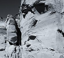 The Rock Face by TonyCrehan