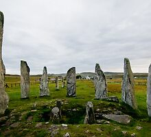 Calanais Stone Circle by donberry