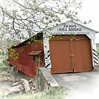 Herr's Mill Historic Covered Bridge by Dyle Warren