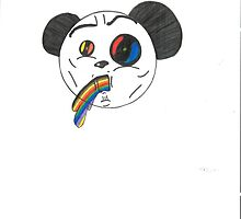 Piss Head Panda by detessellate