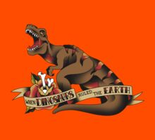 Jurassic Park T-Rex Tattoo Flash by apocalypsebob