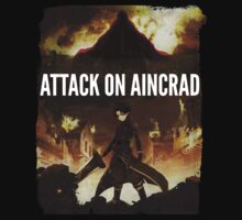 Attack on Aincrad by JoshInTime