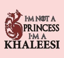I'm Not a Princess I'm a Khaleesi by IvaIvanovaART