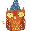 Party Owl by nic squirrell