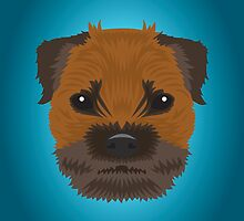 Border Terrier  by threeblackdots