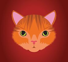 Ginger Tom Cat by threeblackdots