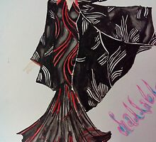 black gown by shanu64