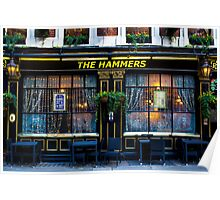 The Hammers Pub Poster
