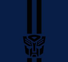 Transformers icon with racing stripes by raix250