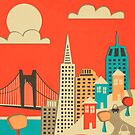 SAN FRANCISCO by JazzberryBlue