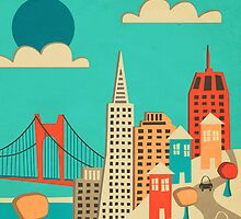 SAN FRANCISCO  by JazzberryBlue