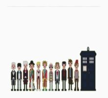 All The Doctors by RedNumber4