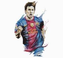 Messi Barca by znojc