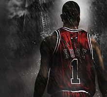 Derrick Rose Chicago Bulls NBA by Givens87