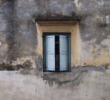 Little blue window by Rhiannon Williams
