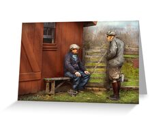 Country - The farm hands Greeting Card