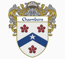 Chambers Coat of Arms/Family Crest by William Martin