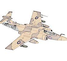 Blackburn Buccaneer aircraft by surgedesigns