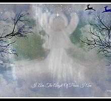 MIDNIGHT ANGEL OF PEACE/ for all you wonderful artist friends by Sherri     Nicholas