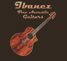 Ibanez Fine Acoustic  Guitars decoration Clothing & Stickers by goodmusic