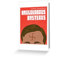 Inglourious Basterds (Filtered) Greeting Card