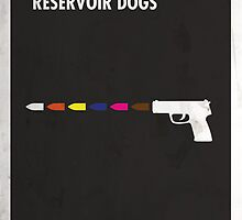 Reservoir Dogs Minimal Film Poster by quimmirabet