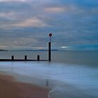 Poole Bay Clouds At Dawn  by delros