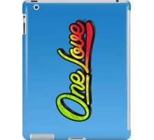 One Love iPad Case/Skin