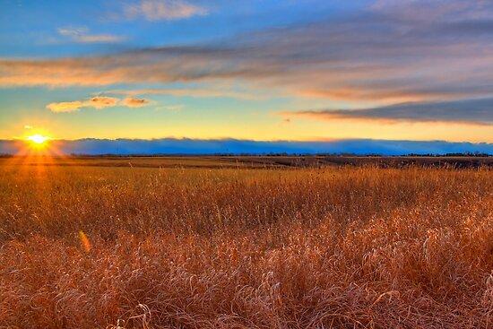 Prairie Sunset  by JamesA1