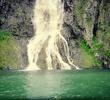 Norwegian Waterfall 2 by ValSteve59