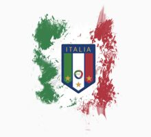 Italian Pride T-Shirt by iArt Designs