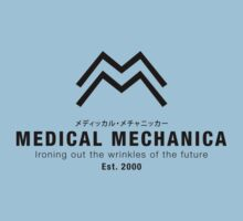Medical Mechanica (Black) by Bryant Almonte Designs