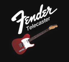 Fender Telecaster American Guitar decoration Clothing & Stickers by goodmusic