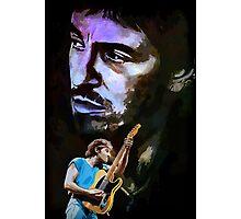 Guitarist Photographic Print
