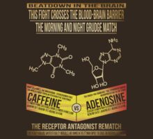Caffeine Vs Adenosine Light Text by universalfreak