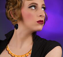 Necklace and Earring by GolemAura