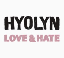 Hyolyn Love & Hate 1 by supalurve