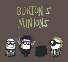 Burton's Minions by Donnie Illustration