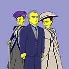 Downton Abbey Trio by Donna Huntriss