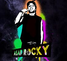 Asap Rocky color by GoldWhite