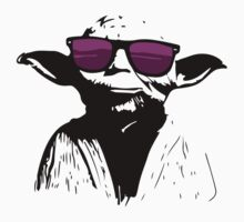 Yoda Purple Glasses by GoldWhite