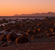Kapiti Island dawn by Barry Culling