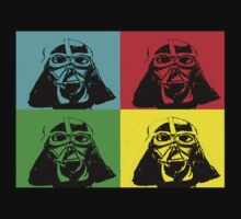 Darth Vader Pop Art by Amanda Holmes