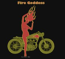 FIRE GODDESS by mago