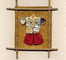 man kimono by Julie  Savard