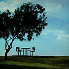 Lonely setting at Hervey Bay by myraj