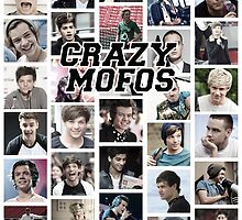 Crazy Mofos by crookshanking
